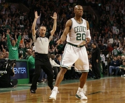 REMEMBER THE NAME!!! (RAY ALLEN 2561 3 point shots) ALL TIME RECORD