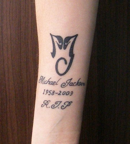 ♥ :* MJ tattoos {hope to have one in the future} :* ♥