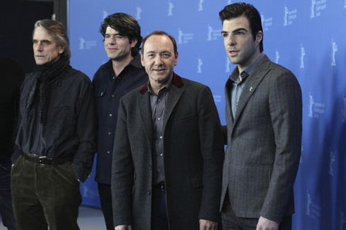 02-11-11: 61st Berlin Film Festival - Margin Call - Photocall