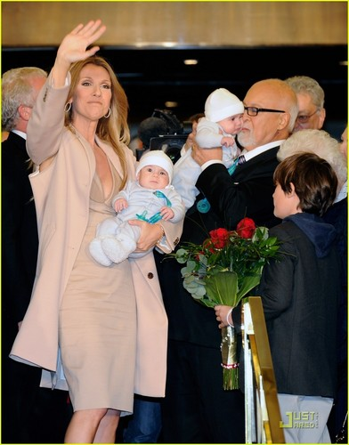 Celine Dion & Family Return to Caesars Palace!