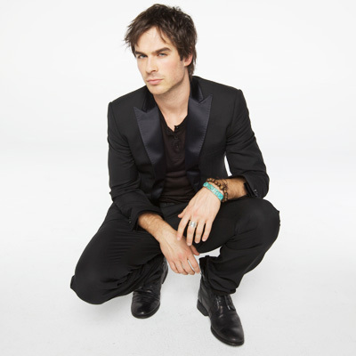 Ian Somerhalder and his TVD costars on Nylon February photoshoot 2010