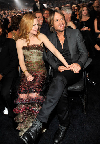 Keith and Nicole at the 53rd Annual GRAMMY Awards
