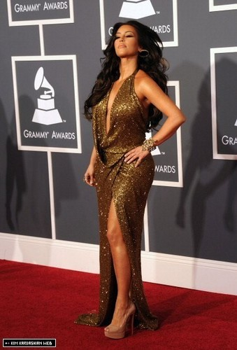 Kim @ The 53rd Annual GRAMMY Awards
