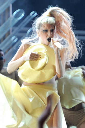 Lady Gaga - performance at 53rd Grammy Awards