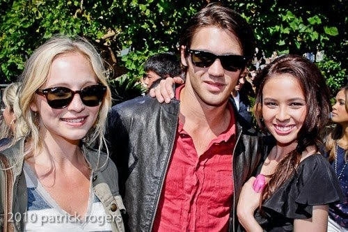 New/Old photo- Candice, Steven and Malese.