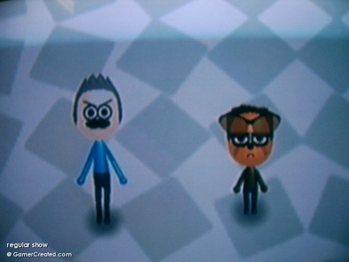 Regular Show Miis