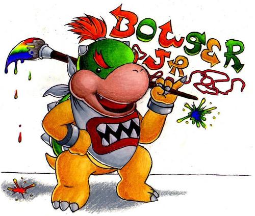 Bowser Jr. Signature