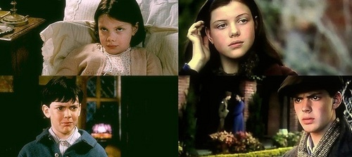Edmund and Lucy Pevensie