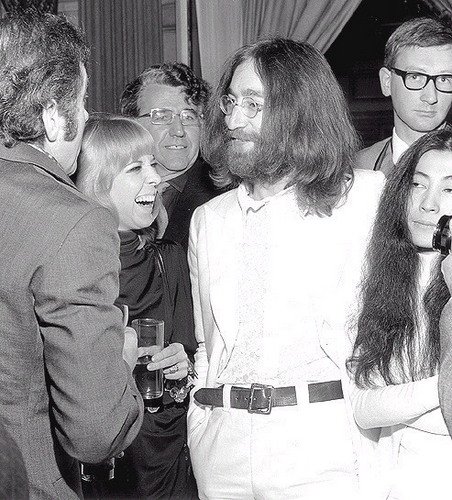 John, Yoko and Maureen