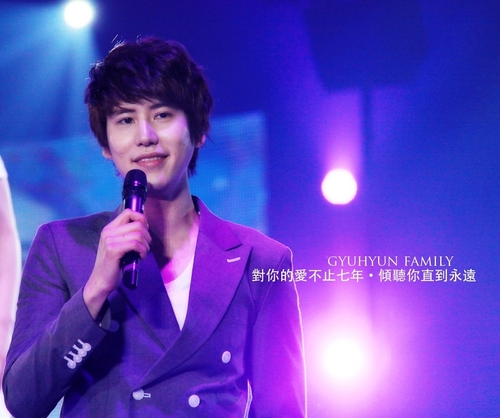 110218 Super show3 in Yokohama জাপান - Kyuhyun