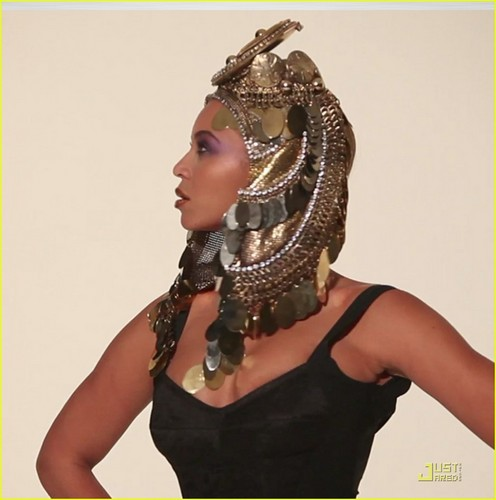 Beyonce: African-Inspired L'Officiel litrato Shoot!