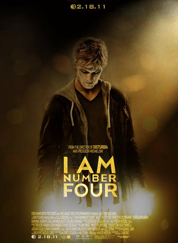 I Am Number Four Poster