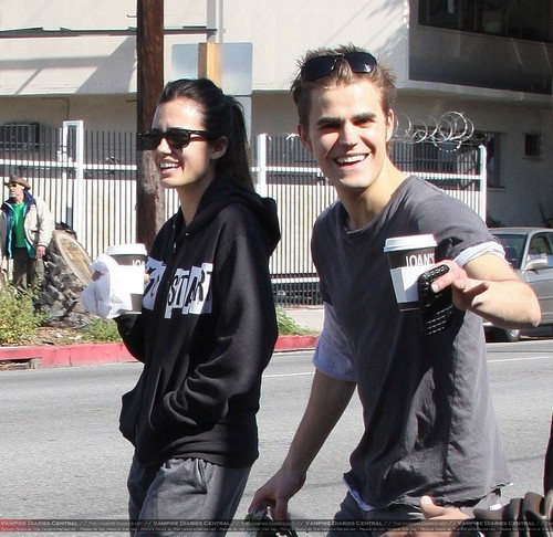 Paul Wesley & Torrey DeVitto - আরো pics from Valentine's দিন