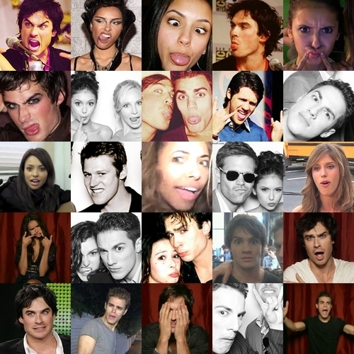 TVD cast funny