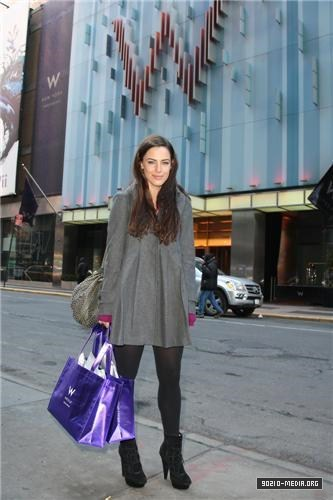 2011-02-22 Jessica Lowndes Shopping at W The Store at W Times Square