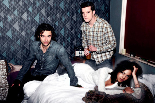 Being Human (Aiden Turner, Russel Tovey + Lenora Crichlow) Photoshoot 100% Real :) x