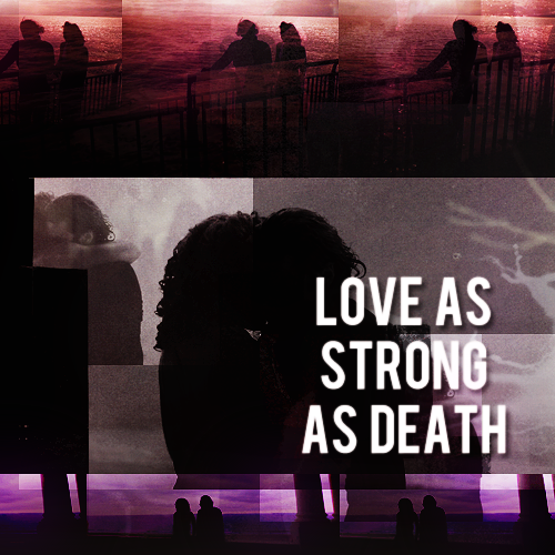 Being Human (Annie + Mitchell) 爱情 As Strong As Death (VampGhost = True Love) 100% Real :) x
