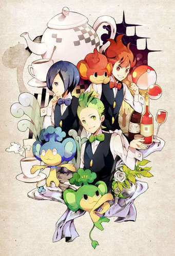 Cilan and friends