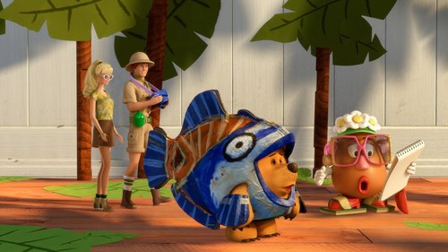 Bilder from Toy Story short