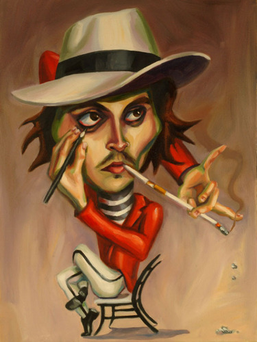 Johnny caricature