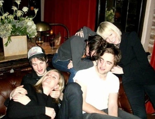 New/Old 사진 of Rob, Kristen and Tom