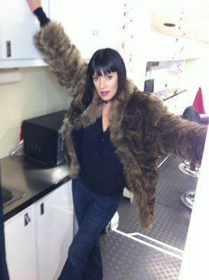 Paget has WAY too much clothing on :P