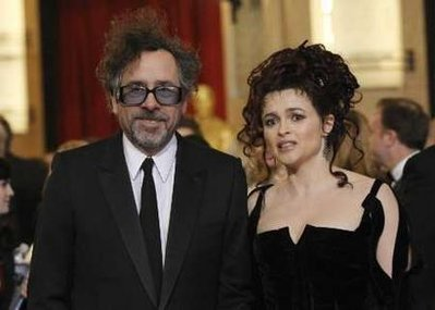 Tim and Helena at the Academy Awards