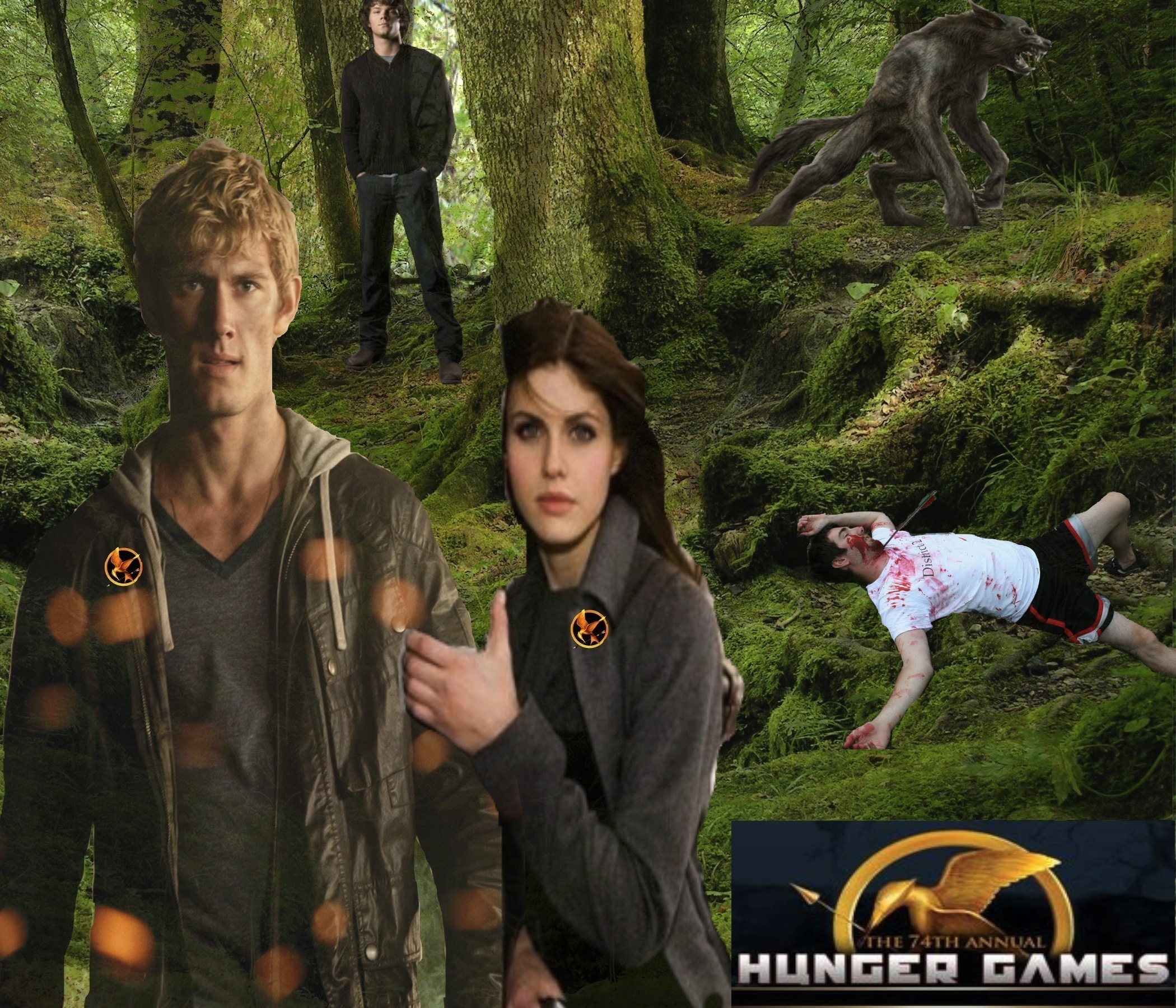BEEN A WHILE BUT WE BACK! WHOS GONNA WIN THE HUNGER GAMES
