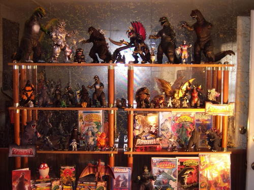 My Godzilla collection January 2011