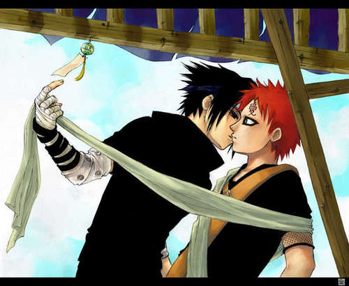 Sasuke and Gaara