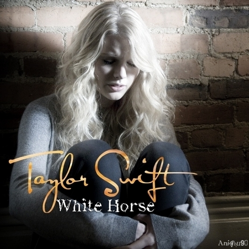 Taylor rápido, swift - White Horse [My FanMade Single Cover]