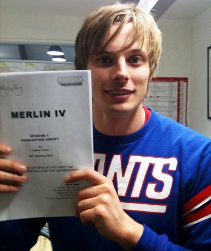 Bradley at the first Merlin IV Readthrough today!