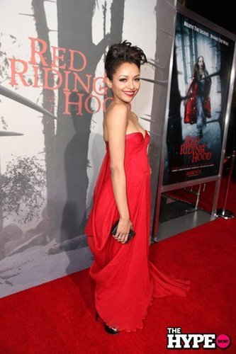 "Kat Graham Red Hot @ ""Red Riding Hood"" Premiere"