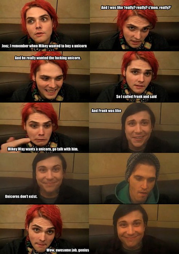 Mikey wants a unicorn....