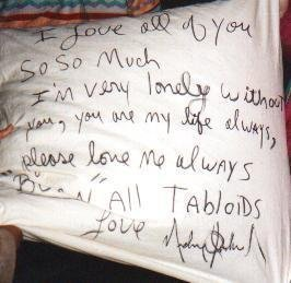 Awwww I Will ALWAYS ALWAYS Amore te Michael,I promise te te ARE NOT ALONE!!<3
