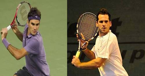 Federer and Mateasko look alike