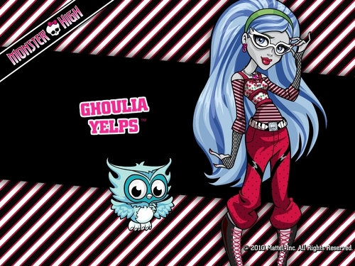 Ghoulia Yelps Wallpaper 1024x768 & 800x600