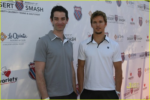 Ryan Kwanten: K-Swiss Desert Smash with James Frain!