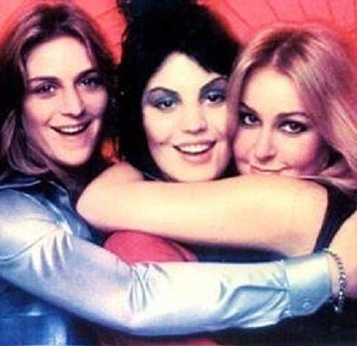 Sandy West, Joan Jett and Lita Ford