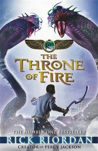 The kiti cha enzi of Fire, Kane chronicles vitabu 2, Other Cover