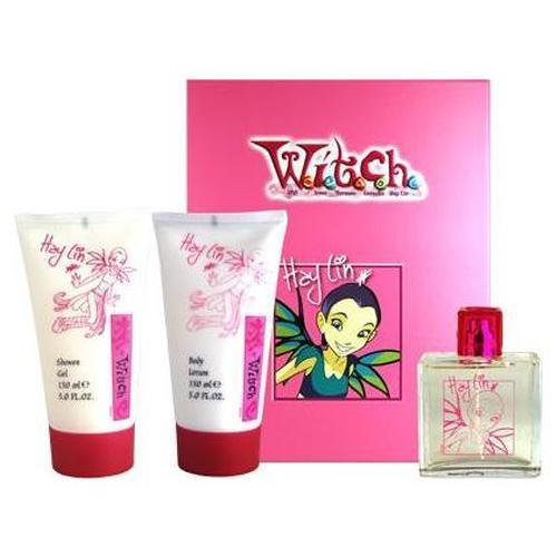 w.i.t.c.h heno, hay lin perfume +body lotion+shower gel
