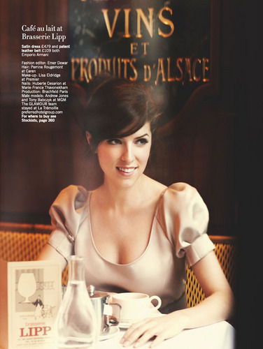 (Scans) New Outtakes of Anna Kendrick in Glamour UK (April 2011)