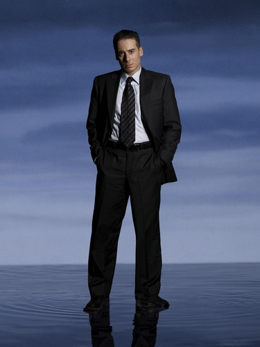 Kirk Acevedo as Agent Charlie Francis in a 'Fringe' Promotional Photoshoot