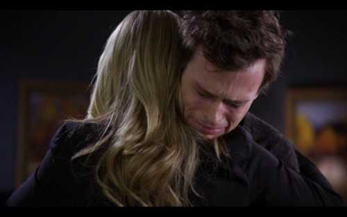 Reid crying about Emily :(