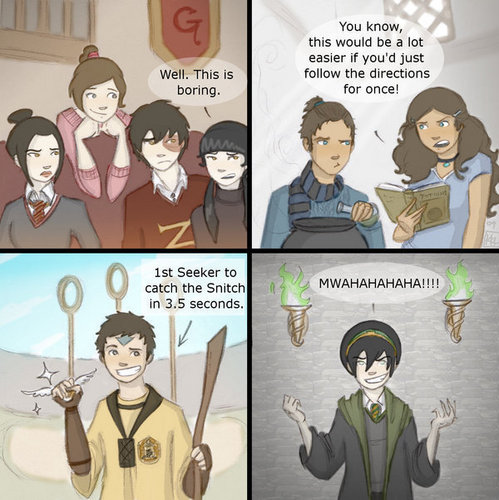 Team awatara at Hogwarts