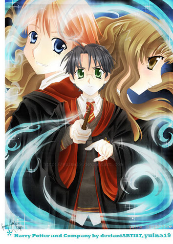 Harry Potter Anime Characters