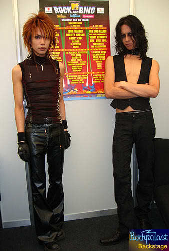 Shinya and Toshiya