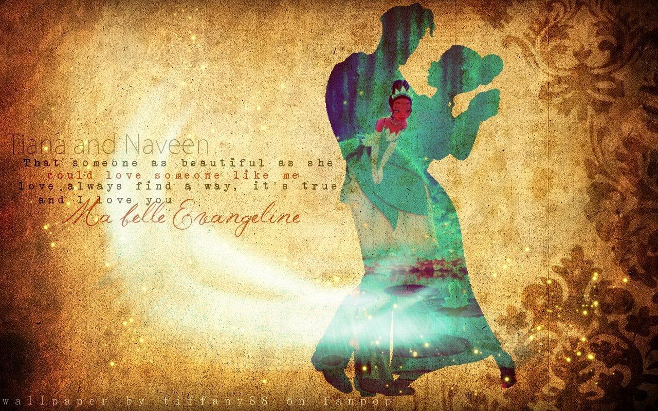 Tiana And Naveen The Princess And The Frog Wallpaper 20220447