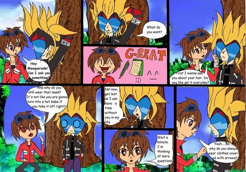 Masquerade comic XD part 1