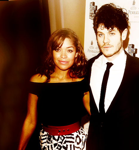 Antonia Thomas and Iwan Rheon